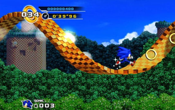 Sonic The Hedgehog 4 Xbox 360 Game Review The Ed Zone